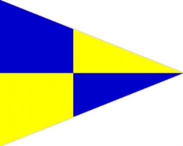 Fishery Code Signal Pennant